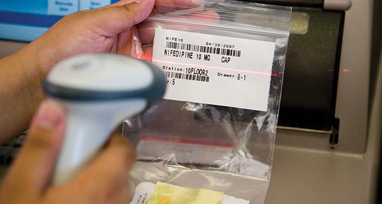 Pharmacy Barcode Pyxis Parx System Bd