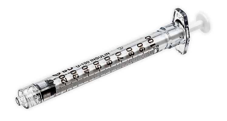 BD 1-mL Conventional Insulin Syringes - BD