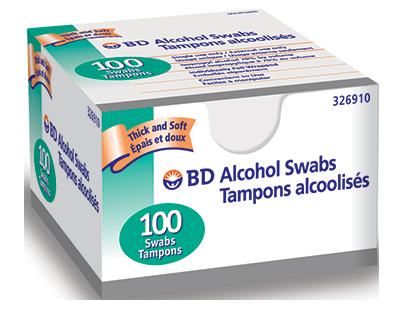 BD Alcohol Swabs - BD