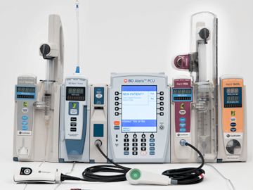 Infusion system devices