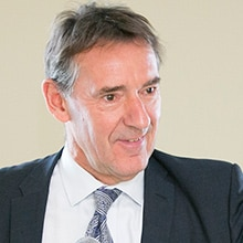Lord Jim O'Neill, Chair of the AMR Review and U.K. Commercial Secretary to the Treasury