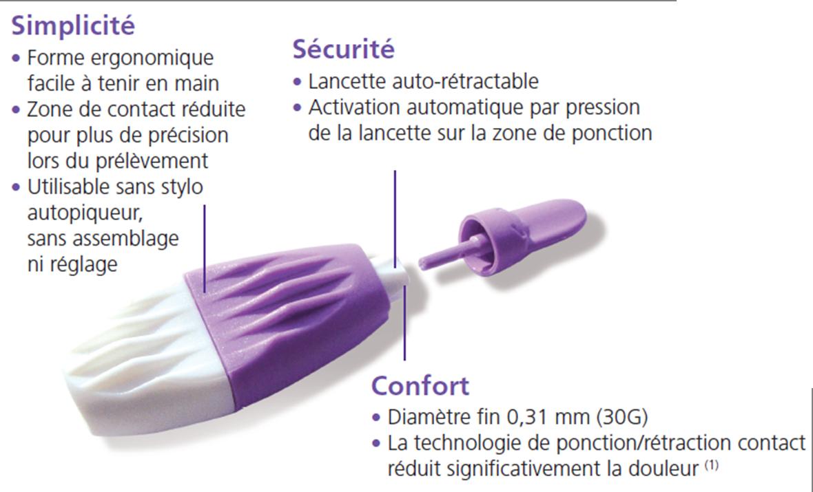 Bd Medical Unit 233 Diab 232 Te Produits Pr 233 L 232 Vement Capillaire Lancette Bd Microtainer 174
